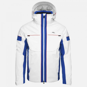 Lyžiarska bunda KJUS Men Downforce Jacket white