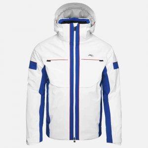Lyžiarska bunda KJUS Men Downforce Jacket white