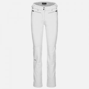 Lyžiarske nohavice KJUS Women Sella Jet Pant white