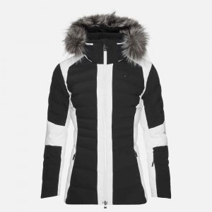 Lyžiarska bunda KJUS Women Duana Jacket black.white