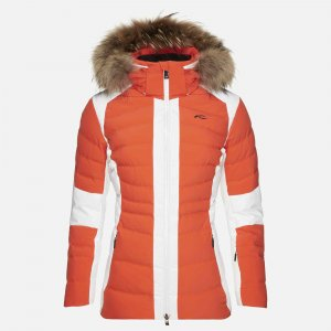 Lyžiarska bunda KJUS Women Duana Jacket spicy orange
