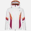 Lyžiarska bunda KJUS Women Laina Jacket white.persian red