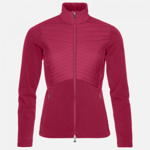 Funkčné oblečenie KJUS Women Scylla Midlayer Jacket persian red