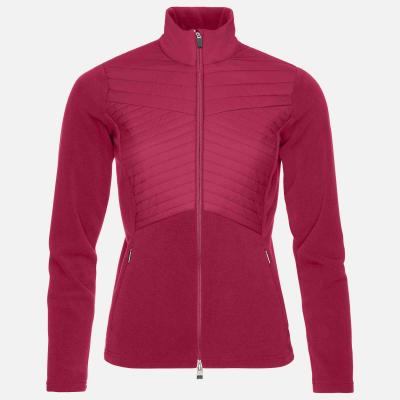 Lyžiarska flísová mikina KJUS Women Scylla Midlayer Jacket persian red