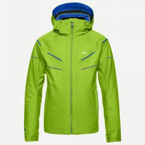 Detská lyžiarska bunda Boys Formula DLX Jacket lime green