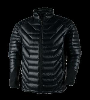 Funkčné oblečenie Obermeyer Kinetic Down Hybrid Insulator Black