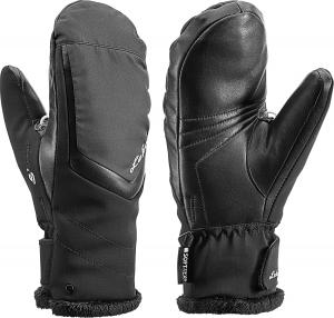 Dámske lyžiarske rukavice Leki Stella S lady black mitten