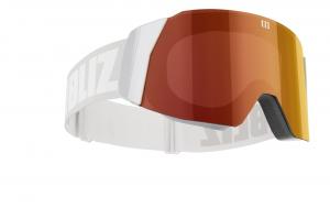 Lyžiarske okuliare Bliz Air grey/ brown red multi