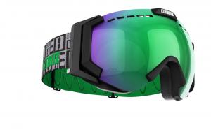 Lyžiarske okuliare Bliz Carver XT matt black/brown w.green multi+orange