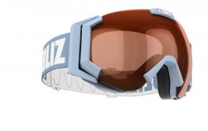 Lyžiarske okuliare Bliz CARVER SR light blue/orange