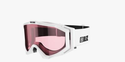 Lyžiarske okuliare Bliz Edge  white/pink