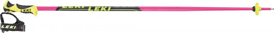 Detské lyžiarske palice Worldcup Lite SL TR S pink