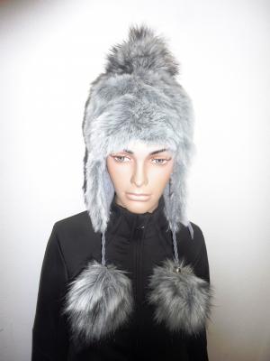 Lyžiarska čiapka Elon Cap Fashion Grey