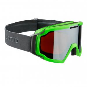 Lyžiarske okuliare Indigo Forward Green Mirror Double Lens