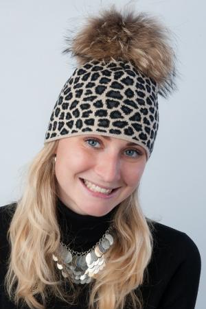 Lyžiarska čiapka R-JET FOR YOU Top Fashion žakár TF/Z LEO 04_UNI