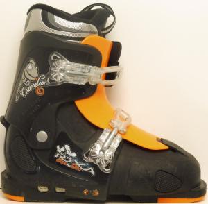 Detské lyžiarky BAZÁR Roxa Chameleon Black/orange 220-250