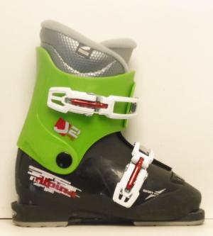 Detské lyžiarky BAZÁR Alpina J2 210