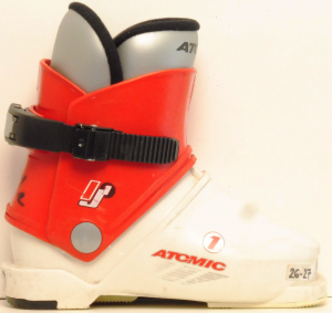 Detské lyžiarky BAZÁR Atomic 1 red/white 165