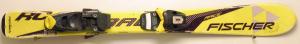 Detské lyže BAZÁR Fischer Race yellow 90 cm
