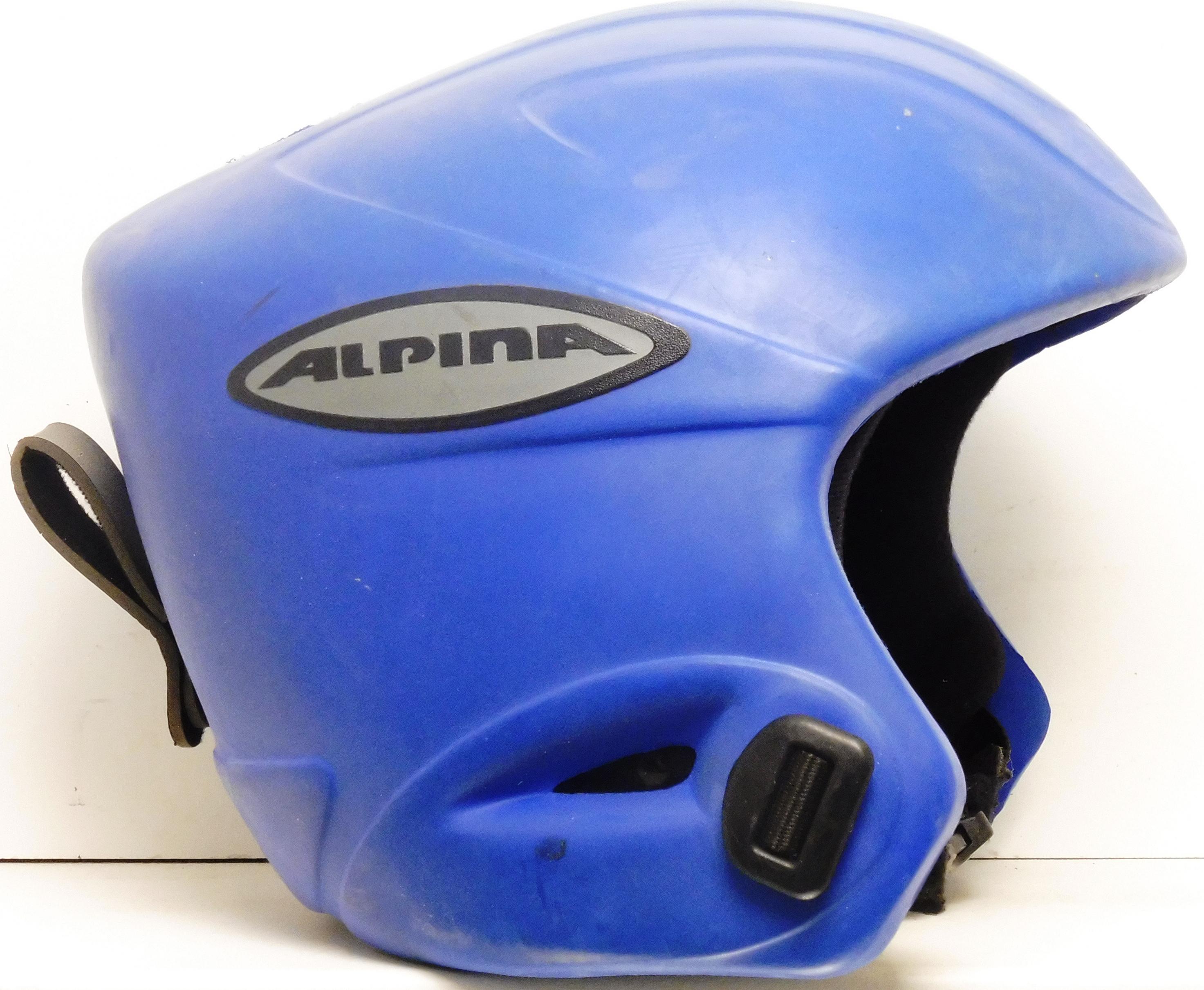 Alpina Lyžiarska prilba BAZÁR Alpina Blue 56-58 d4fb2d275b7