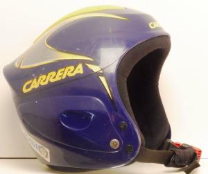 Lyžiarska prilba BAZÁR Carrera blue/yellow 54