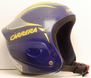 Lyžiarska prilba BAZÁR Carrera blue/yellow 58