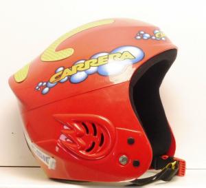 Lyžiarska prilba BAZÁR Carrera red 54