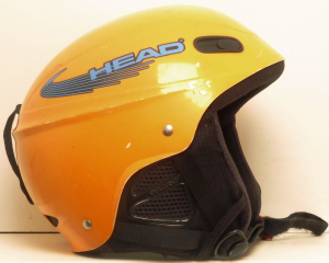 Lyžiarska prilba BAZÁR Head yellow XS
