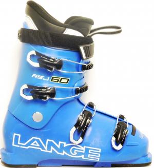Detské lyžiarky BAZÁR Lange RSJ 60 blue 265*