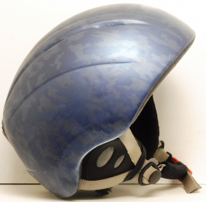 Lyžiarska prilba BAZÁR Salomon blue 52