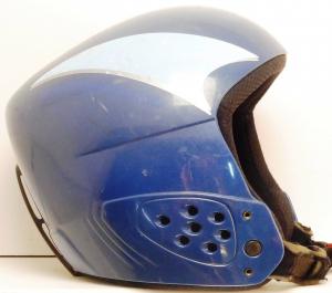 Lyžiarska prilba BAZÁR SH+ blue 50-53