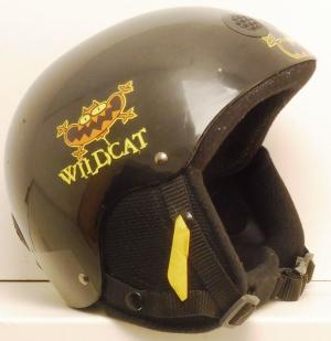 Lyžiarska prilba BAZÁR Wildcat black 54