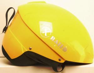 Lyžiarska prilba BAZÁR X Rated yellow 58