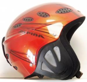 Lyžiarska prilba BAZÁR Alpina Grey/Red 50-53*