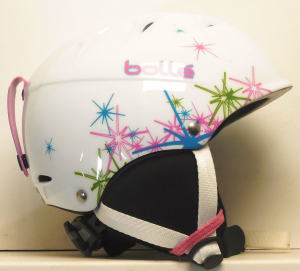 Lyžiarska prilba BAZÁR Bolle White/Pink XS