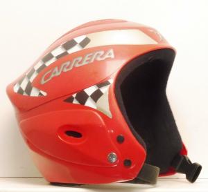 Lyžiarska prilba BAZÁR Carrera Red XS 53-54