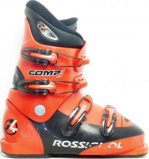 Detské lyžiarky BAZÁR Rossignol Comp J red 245