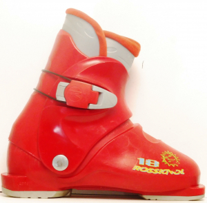 Detské lyžiarky BAZÁR Rossignol Red Fire 225