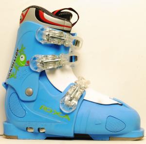 Detské lyžiarky BAZÁR Roxa Chameleon blue 255
