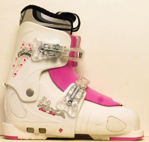 Detské lyžiarky BAZÁR Roxa Chameleon pink 255