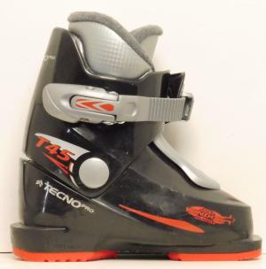 Detské lyžiarky BAZÁR Tecnica Pro black 165