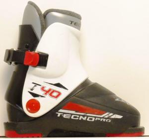 Detské lyžiarky BAZÁR Tecno Pro T4 155