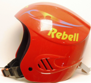 Lyžiarska prilba BAZÁR Rebell Red S*