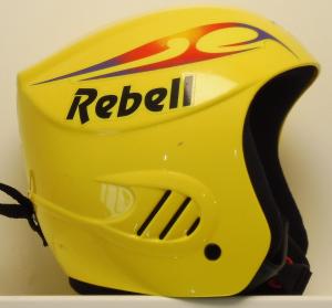 Lyžiarska prilba BAZÁR Rebell Yellow 52
