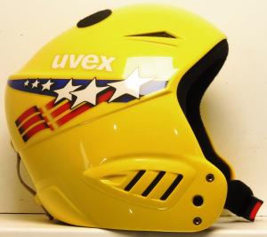 Lyžiarska prilba BAZÁR Uvex Yellow 53-54
