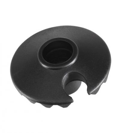 Klobúčik na Leki palice Racing Ø 50 mm Black