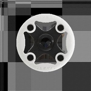 Klobúčik na Leki palice Bandit Ø 80 mm Black-White