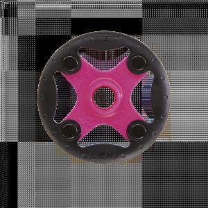 Klobúčik na Leki palice Bandit Ø 80 mm Pink-Black