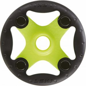 Klobúčik na Leki palice Bandit Ø 80 mm Green-Black