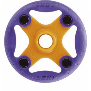 Klobúčik na Leki palice Bandit Ø 80 mm Orange-Violett